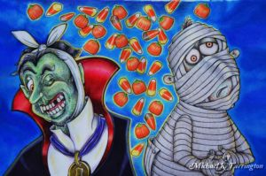 The Count Von Incisor & The Mummy with the Tumbly Tummy
