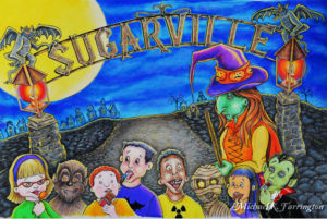 Sugarville Illustration